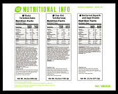 view Hello Fresh Nutritional Information Card digital asset number 1