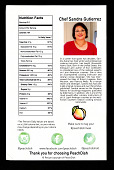 view Sandra Guiterrez's Potato & Chorizo Sopes Recipe Card digital asset number 1