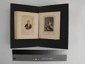 view page, carte-de-visite album digital asset: Left: 2018.0124.04m recto (front). Right: 2018.0124.04n recto (front)