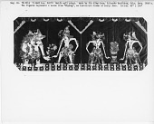 "view Javanese pictorial batik, ""Wayang"" scene; Sie King Goan (factory); 1927 digital asset number 1"