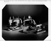view Toy sewing machine; Germany; early 1900s digital asset number 1