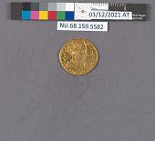 view 1 Ducat, Lithuania (Poland), 1567 digital asset: after treatment