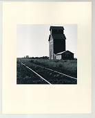 view Farmer's Co-op Grain Elevator digital asset: Gelatin silver print, Farmer's Co-op Grain Elevator