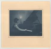 view A Nocturne digital asset: Carbon print, A Nocturne