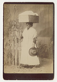 view Portrait of an African-American Woman digital asset: Cabinet card, Portrait of an African-American Woman