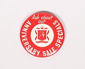 view Fuller Anniversary Button digital asset: Button, Ask About Our Anniversary Sale Specials