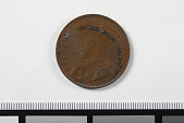 view 1 Penny, South Africa, 1936 digital asset: Coin, 1 Penny