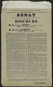 view Senat Extrait Du Proces-Verbal De La Seance Du Jeudi 5 Avril 1917 digital asset number 1