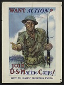 view Want Action? Join U.S. Marine Corps! digital asset number 1