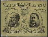 view Grand National Republican Banner 1880 digital asset number 1