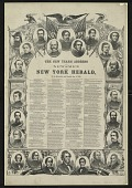 view The New Year's Address of the Newsmen of the New York Herald digital asset number 1