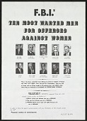 view FBI Ten Most Wanted Men digital asset number 1