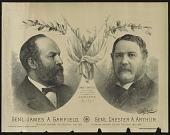 view Gen'l James A. Garfield, Gen'l Chester A. Arthur digital asset number 1