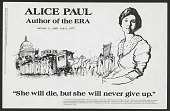 view Alice Paul digital asset number 1