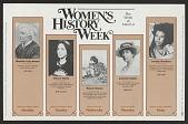 view Women's History Week digital asset number 1