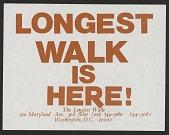 view Longest Walk Is Here! digital asset number 1