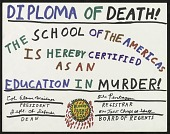 view Diploma of Death....The School of the Americas.... digital asset number 1