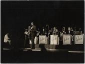 "view [Duke Ellington Orchestra during an international concert performance; ""Photo SAM. H.M. Beyrouth"",1963? digital asset: [Duke Ellington Orchestra during an international concert performance; ""Photo SAM. H.M. Beyrouth"",1963?"