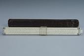 view Charvoz-Roos SR-105D Simplex Slide Rule digital asset: Slide rule, Charvoz-Roos SR-105D