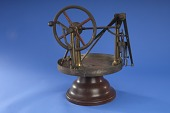 view 1850 - Frederick R. Robinson's Patent Model of a Sewing Machine digital asset number 1