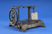 view 1852 - Otis Avery's Patent Model of a Sewing Machine digital asset number 1