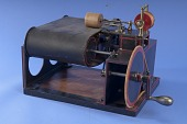 view 1849 Bachelder's Patent Model of a Sewing Machine digital asset number 1
