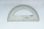 view Felsenthal FAE-23 Artillery Protractor digital asset: Felsenthal FAE-23 semicircular protractor