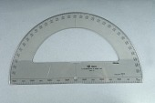 view Felsenthal FAE-21 Artillery Protractor digital asset: Felsenthal FAE-21 semicircular protractor