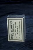 view Lafayette Barber Shop matchbox cover digital asset number 1