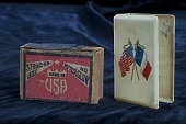 view American Fund for French Wounded matchbox cover digital asset number 1