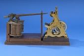 view Part of Morse's telegraph apparatus, US Patent # 4,453 digital asset number 1