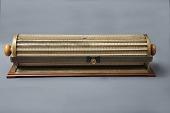 view Keuffel & Esser 4013 Thacher Cylindrical Slide Rule digital asset: K&E Thacher cylindrical slide rule, Model 4013, front.