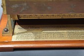 view Keuffel & Esser 4013 Thacher Cylindrical Slide Rule digital asset: K&E Thacher Cylindrical Slide Rule, Model 4013, Front Detail