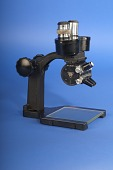 view Microscope digital asset: microscope, right view