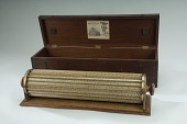 view Keuffel & Esser 1740 Thacher Cylindrical Slide Rule digital asset: Keuffel & Esser Model 1740 Thacher cylindrical slide rule, with case.