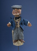 view male hand puppet by Bil Baird apprentice of Tony Sarg, for puppeteer Miquel V. Varell digital asset number 1