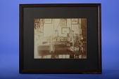 view Framed Photograph of Apparatus of Herman Hollerith digital asset: Photograph - Hollerith Measuring Instrument (Comparator?)