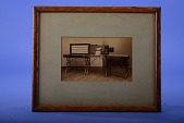 view Framed Photograph of a Hollerith Tabulating System digital asset: Photograph - Hollerith Tabulating System