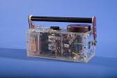 view General Electric prototype transistor radio digital asset number 1