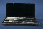 view Keuffel & Esser Set of Drawing Instruments digital asset: Set of Drawing Instruments in Case, Keuffel & Esser, Case Open