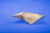 view Model of a Lennes Polyhedron by Richard P. Baker, Baker #287 digital asset: Metal Model of a Lennes Polyhedron by Richard P. Baker, Baker #287