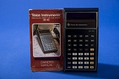 view Texas Instruments SR-40 Handheld Electronic Calculator digital asset: Texas Instruments SR-40 Handheld Electronic Calculator with Instructions