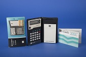 view Sharp EL-8133 Handheld Electronic Calculator digital asset: Sharp EL-8133 Handheld Electronic Calculator out of Box