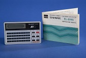 view Sharp EL-8145 Handheld Electronic Calculator digital asset: Sharp EL-8145 Handheld Electronic Calculator with Instructions
