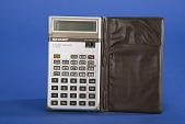 view Sharp EL-506 Handheld Electronic Calculator digital asset: Sharp EL-506 Handheld Electronic Calculator