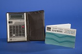 view Sharp EL-8028 Handheld Electronic Calculator digital asset: Sharp EL-8028 Handheld Electronic Calculator with Instructions