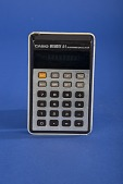 view Casio Memory A-1 Handheld Electronic Calculator digital asset: Casio Memory A-1 Handheld Electronic Calculator