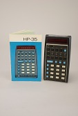 view Hewlett-Packard HP-35 Operating Manual digital asset: Hewlett-Packard HP-35 Handheld Electronic Calculator with Manual