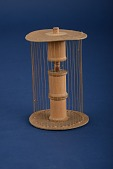 view Model by Philip Malmberg, a Student of A.H. Wheeler, Cylinder Transformable into a Hyperboloid of One Sheet digital asset: Model by Student of A.H. Wheeler, Cylinder Transformable into a Hyperboloid of One Sheet
