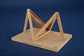 view Geometric Model by Robert Chaffe, a Student of A. Harry Wheeler, Hyperbolic Paraboloid digital asset: Model by Robert Chafee, a Student of A.H. Wheeler, Hyperbolic Paraboloid